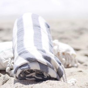 Costa La Mer Bedding - Costa La Mer Turkish Towel Throw Wrap Blanket